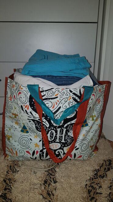 Zenske pantalone broj - Srbija: Paket zenske garderobe, S velicina preko 20stvari,cipele 37,38 broj, 6