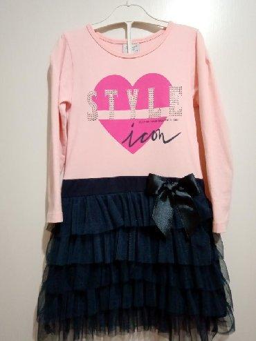 Decije haljine - Nova Varos: Haljinica za devojcice,u odlicnom stanju. Velicina 116