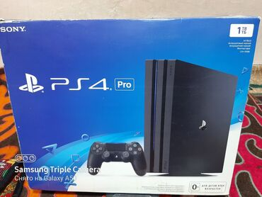 Продаю SONY PS4 Pro. 1 TB. + 1 доп. джойстик. + 6 топ. игр. Приставка