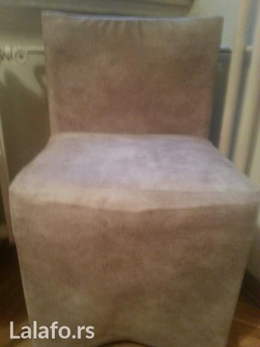 Stolica-fotelja od eko koze - Beograd