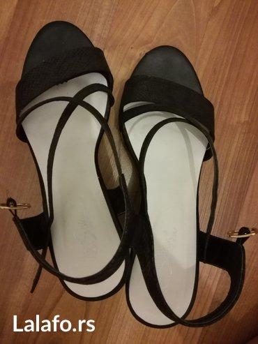 Ženske sandale safran, vel. 38, u dobrom stanju. Obuvane 2 puta. - Borca