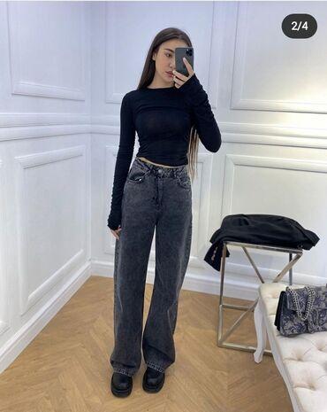 Женская одежда - Бишкек: 25 размер (34 ) Турция,цвет темно серый,хлопок
