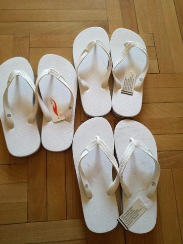 Nove papuce broj 36, 37, 38 . UG 23,5 cm/24cm i 25 cm. Cena za jedne - Bajina Basta
