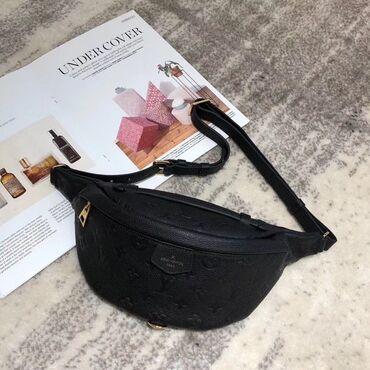 LOUIS VUITTON Классическая поясная сумка идеально дополнит современный