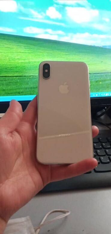 защитное стекло sony x в Кыргызстан: IPhone X 64 ГБ Белый