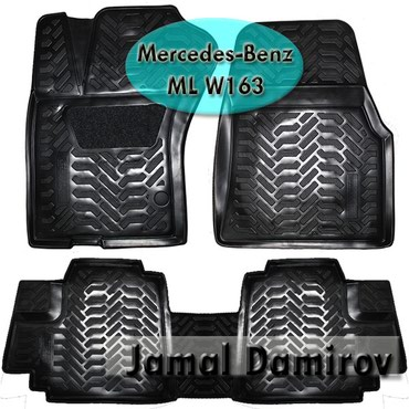 mersedes ml - Azərbaycan: Mercedes-Benz M-Class ML W163 üçün poliuretan ayaqaltılar
