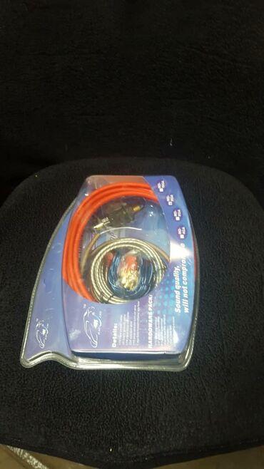 Другая автоэлектроника - Кара-Балта: Провода на усилитель (комплект)