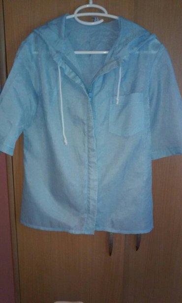 Personalni proizvodi | Vrnjacka Banja: Veoma prijatna bluza-jaknica,izuzetno moderna ove sezone,kao nova,sa