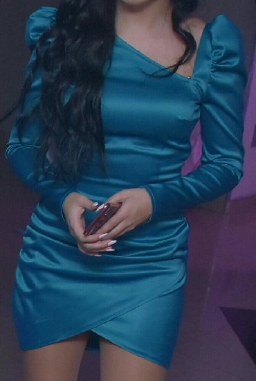 Nova haljina! Petrolej boja. Velicina 38 - Vranje