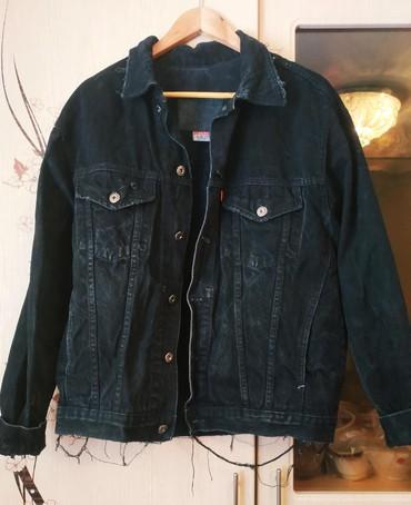 детская джинсовая куртка в Кыргызстан: Джинсовая куртка оверсайз, в отличном состоянии, и отличного качества