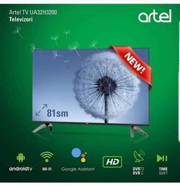 smart tv - Azərbaycan: ‼ ARTEL - Tv‼Təzə və upakovkada.Anbardan satış. Qiymət : 300 azn.Smart