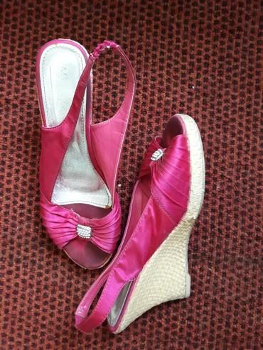 Priglavke broju - Srbija: Pink sandale u broju 40