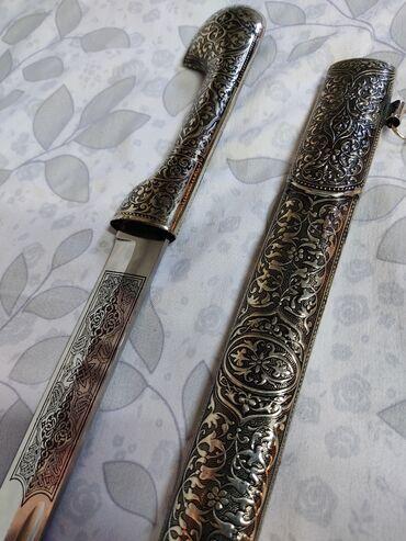 Коллекционные ножи - Бишкек: Продаю коллекцию. Рога традиционные, шашки, сабли, кинжалы. Вся коллек
