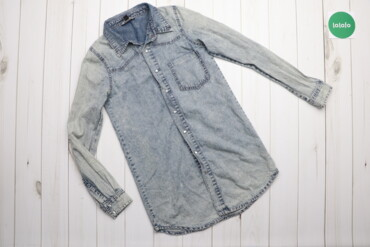 Топы и рубашки - Голубой - Киев: Дитяча джинсова сорочка Cris, р. 13-14 років, зріст 158-164 см   Довжи