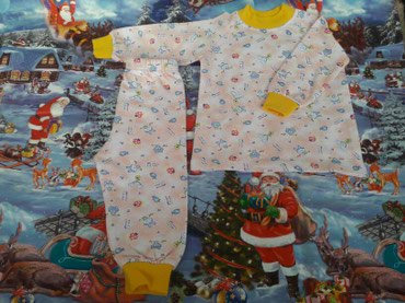 Новая теплая, мягкая пижамка с начесом в Кок-Ой