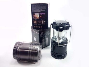 Kućni dekor - Bela Palanka: Kamp led lampa ( 3 aa ) - sivakvalitetna led lampa za kapmovanje, kucu