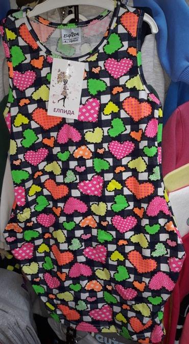 Dečija odeća i obuća | Novi Sad: Pamučne haljine za devojčice, veličine 4 i 12
