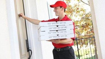 Требуется  доставщик пиццы в компанию в Бишкек