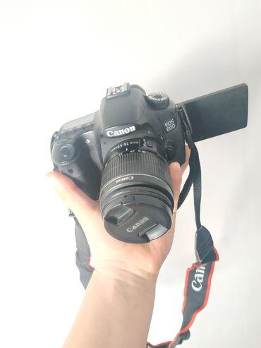 фотоаппарат сони в Кыргызстан: Canon 60d сатылат отличном состояни комплект объектив батарейка флешка