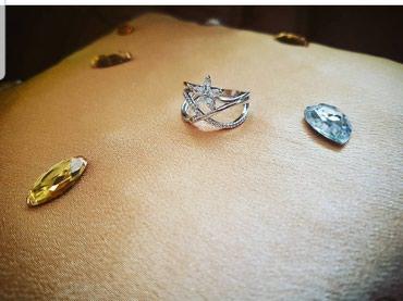 Srebrni prsten, silver 925 - Belgrade
