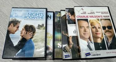 Книгодержатели - Кыргызстан: DVD фильмы на английском оригинальные 6 штук