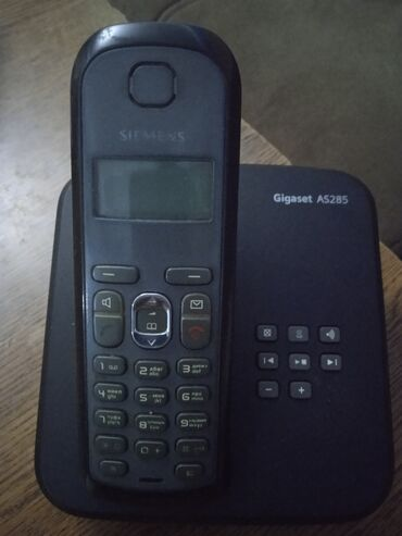 Ev telefonu Gigaset As 285 səliqəli işlənib real alıcı əlaqə