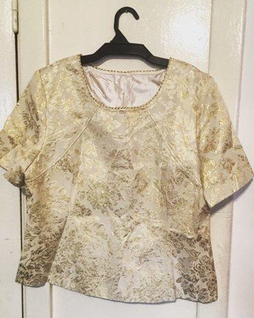 Женские новые блузы кофточки ткань парча,в наличии от 44-52 размера  в Бишкек