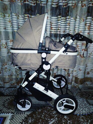 Продам коляску трансформер 3в1. В хорошем состоянии,пользовались