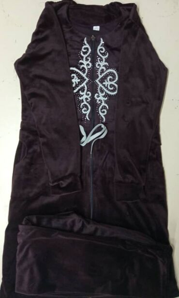 узбекские платья со штанами в Кыргызстан: Халаты- женские со штанамиТкань