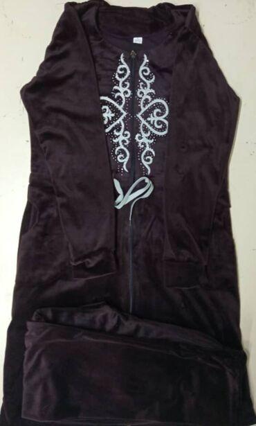 женское платье 52 в Кыргызстан: Халаты- женские со штанамиТкань