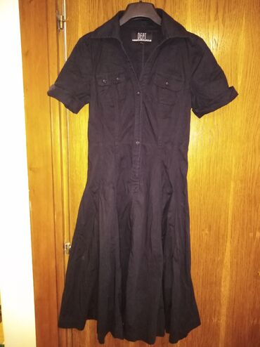 Ženska haljina, NOVA Crna, dužina 97 cm, Vel. M Cena 500,00din
