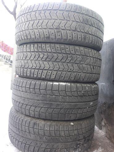 шины зимние бу r16 в Кыргызстан: Продаю зимные шины. 1комплект 4штук цена за штук