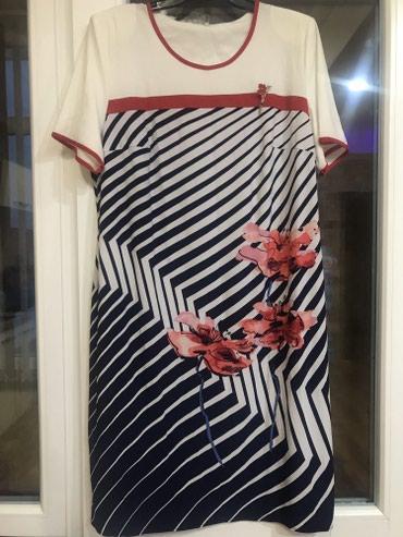 платья весна лето в Кыргызстан: Платье на весну лето легкое воздушное ) 48 р