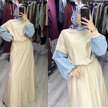 туры с бишкека в Кыргызстан: Продаю новое женское платье, Турция, с этикеткой, размер М-L (44-46)