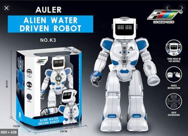 water resist 100m в Кыргызстан: Робот Le Neng Toys Alien water driven robotРобот на радиоуправлении