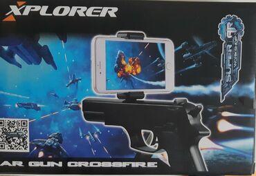 Ostale igre i konzole | Srbija: XPLORER AR Gun Crossfire, konzola piśtoljPištolj za igranje igrica na