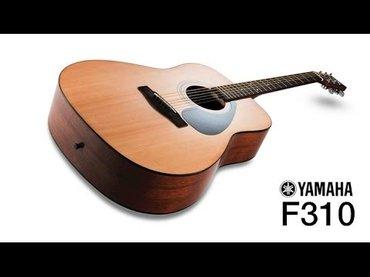 Акустическая гитара YAMAHA F310 в Бишкек