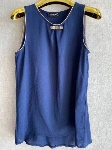 Продаю вещи: 1)темно-синяя маечка фирмы MGN,Турция,размер М,Цена-250с