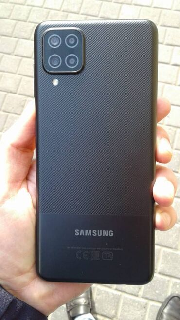 1083 elan | SAMSUNG: Samsung Galaxy A12 | 32 GB | Qara | Barmaq izi