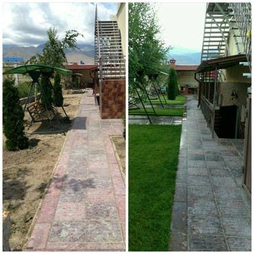 Все для дома и сада в Кыргызстан: Сеем газон  по самым низким ценам  гарантия качества  + Полив +обслужи