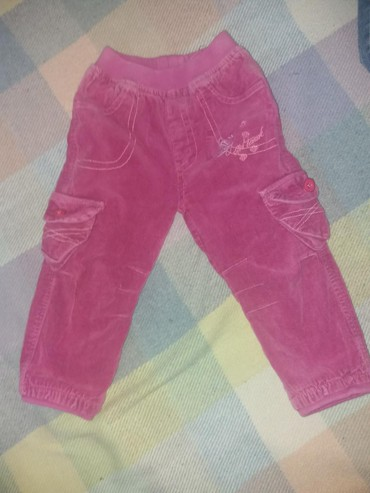 Termo-pantalone - Srbija: Termo pantalone.somot. vel.2. dobro ocuvane