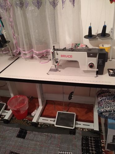 Швейный машинка BRUCE сатылат 3ай колдонулган 5тинитка
