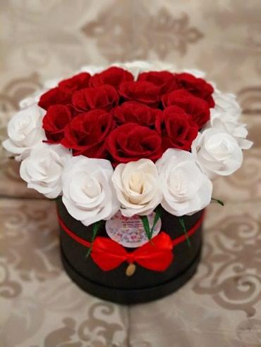 Букет из 29 роз ручной работы. в Бишкек