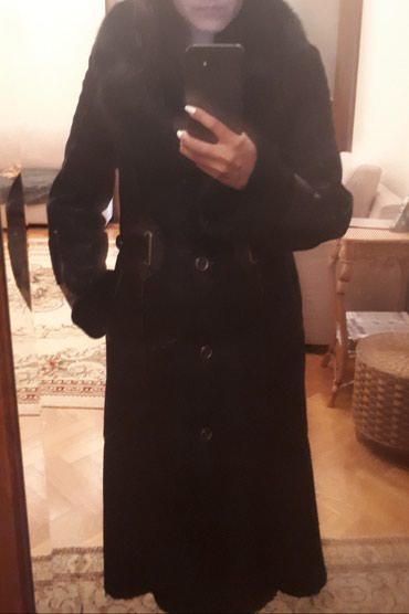 Продаю дубленку в идеальном состоянии одевали один раз, размер S в Бишкек