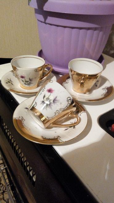 Soljice za kafu..komplet je od 3 soljice..srednje velicine..najfiniji - Kraljevo