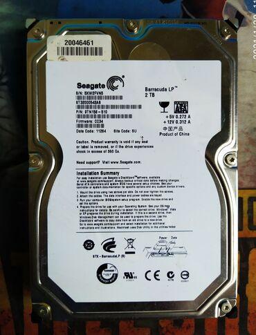 hdd 2tb в Кыргызстан: Продаю жесткий диск на 2tb. В отличном состоянии без битых секторов