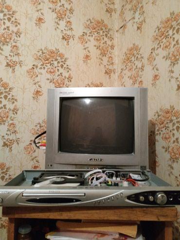 Телефизор+DVD+САНАРИП. ИЛИ ОБМЕН НА в Каракол