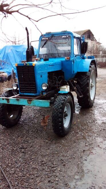 kabloklu traktor altlıqlı bosonojkalar - Azərbaycan: Traktor mtz 80 superdi heçbir xerci yoxduTekerleri tezedi ot toplyan t