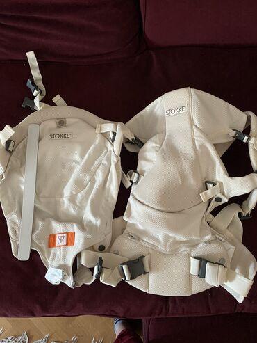 Nosiljka - Srbija: Stokke ergonomska nosiljka za bebe. Malo koriscena, uz nju ide i