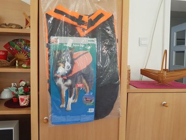 Za dana - Srbija: Karlie prsluk za vodu ua psa, za veceg psa, pitajte da merim.Poslednja
